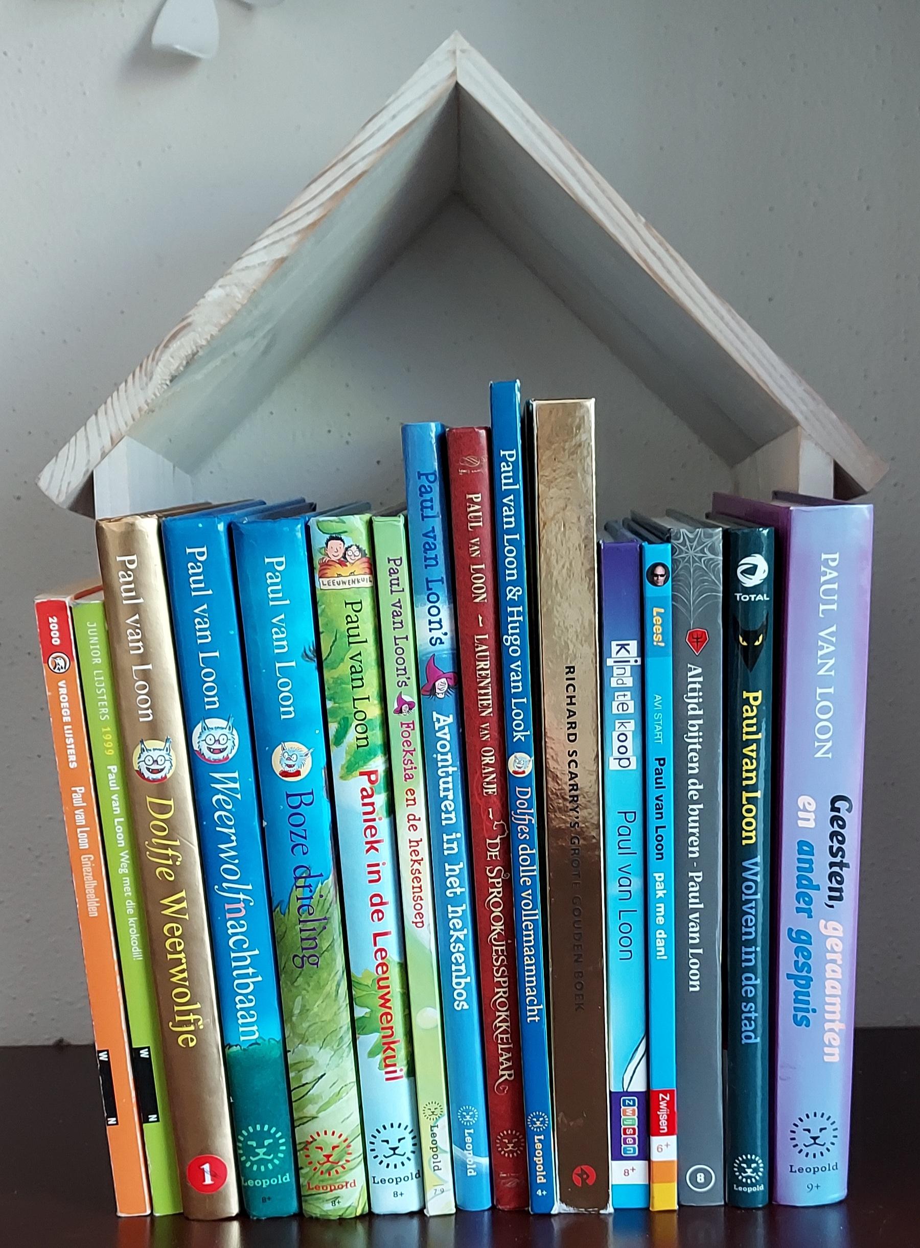 Wat hoort er niet thuis in het boekenhuis - Winactie